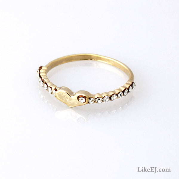 Sweet Heart Ring - LikeEJ