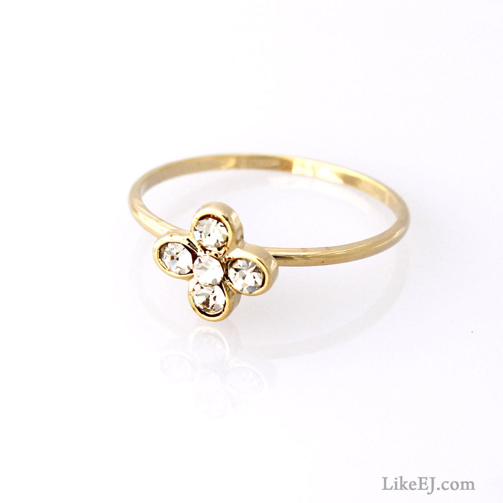 Pretty Flower Ring - LikeEJ