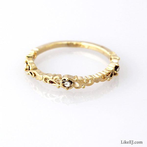 Floral Ring - LikeEJ