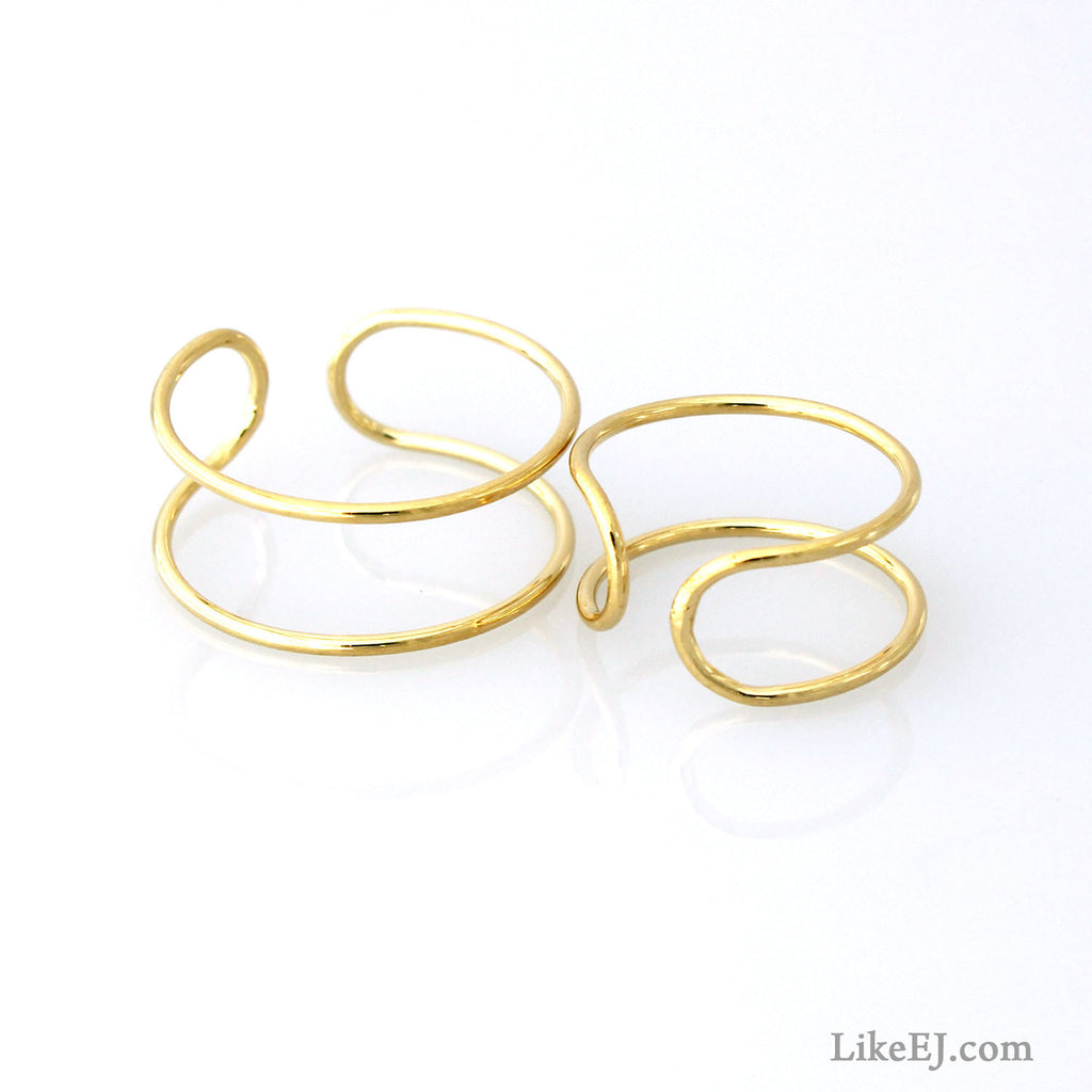 Sexy Double Ring Set - LikeEJ - 1