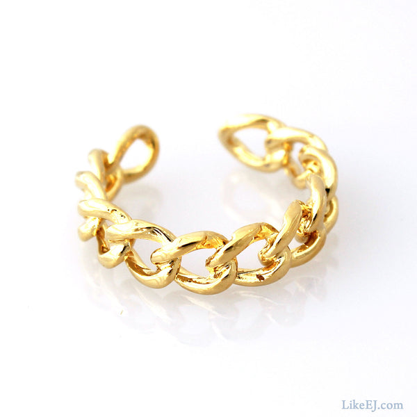 Open Chain Ring - LikeEJ - 1