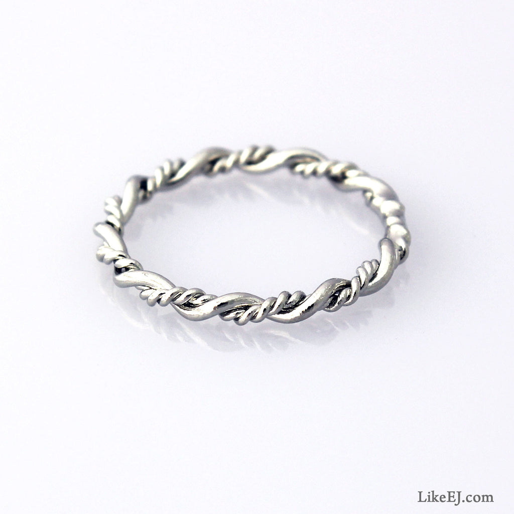 Double Twist Ring - LikeEJ - 1
