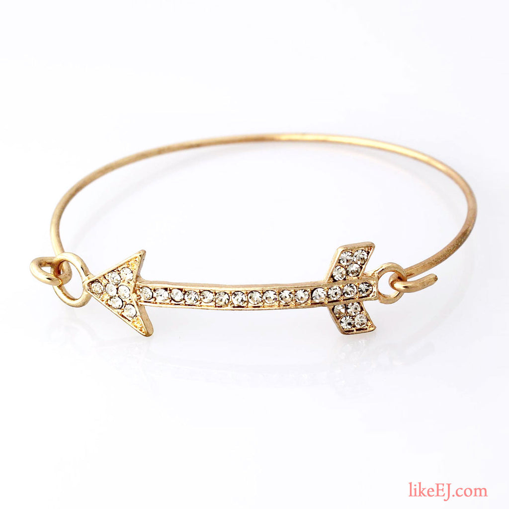 Chic Arrow Bangle Bracelet - LikeEJ - 1