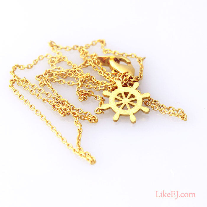 Boat Handle Necklace - LikeEJ - 1