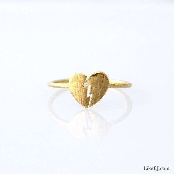 Broken Heart Ring - LikeEJ