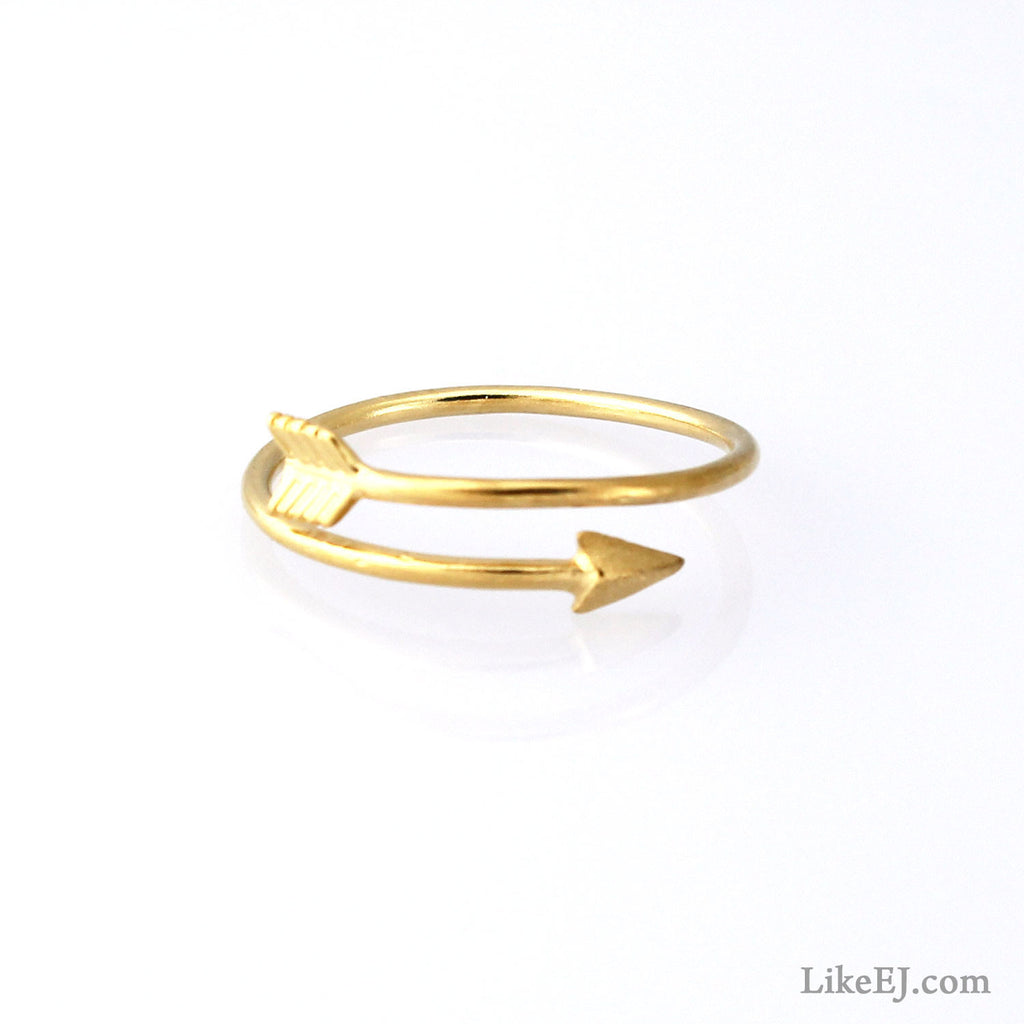 Slim Arrow Ring - LikeEJ - 1