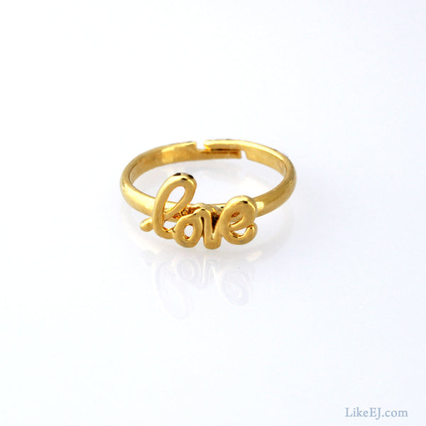 Love Knuckle Ring - LikeEJ - 1