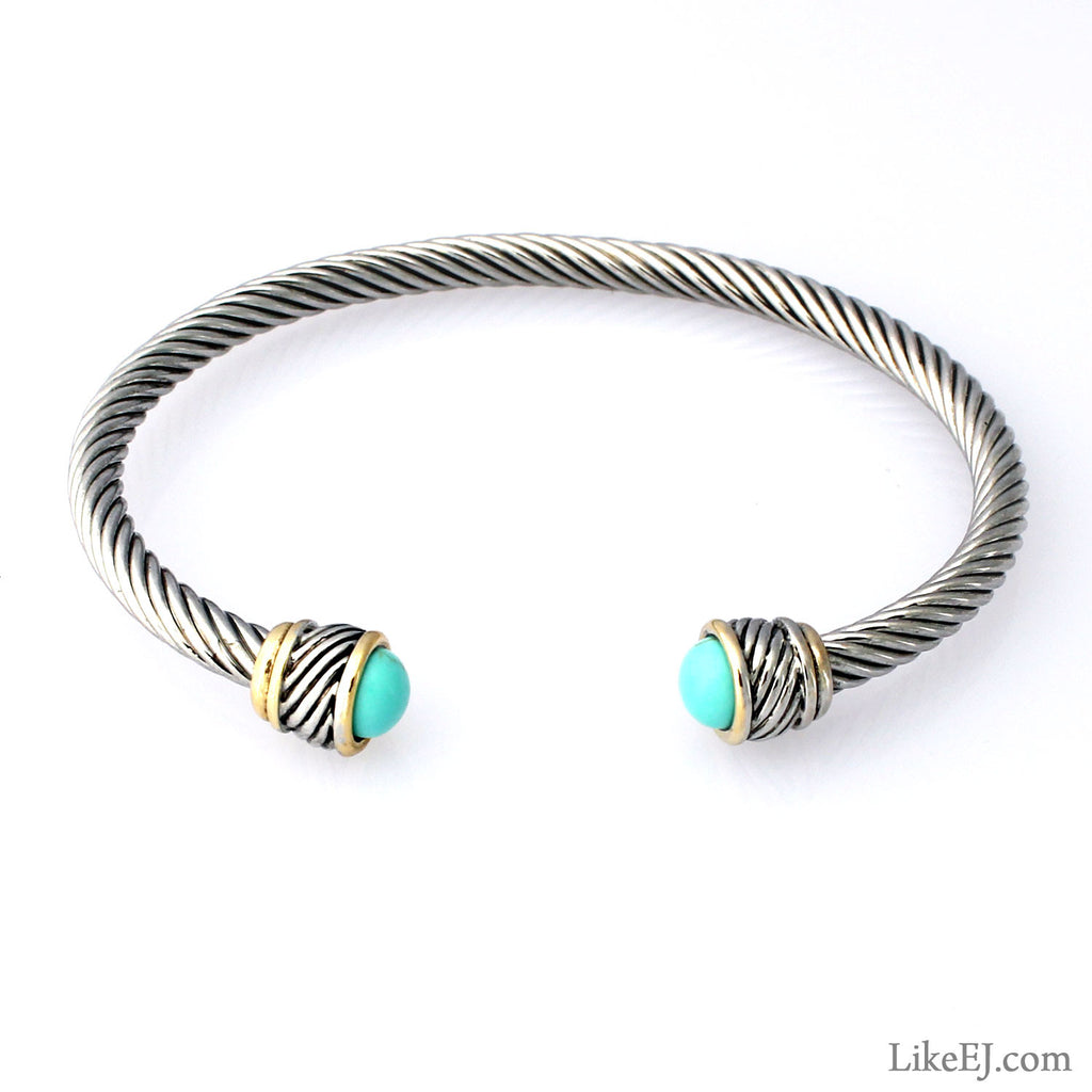 Simple Turquoise Bangle - LikeEJ - 1