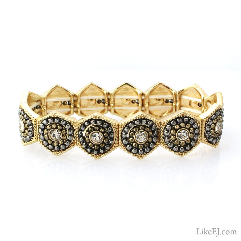 Luxury Hexagon Bracelet - LikeEJ - 1