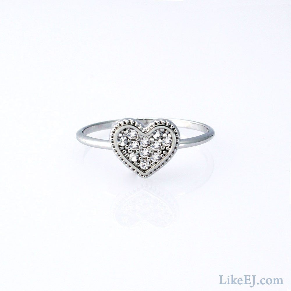 Love Heart Ring - LikeEJ - 1