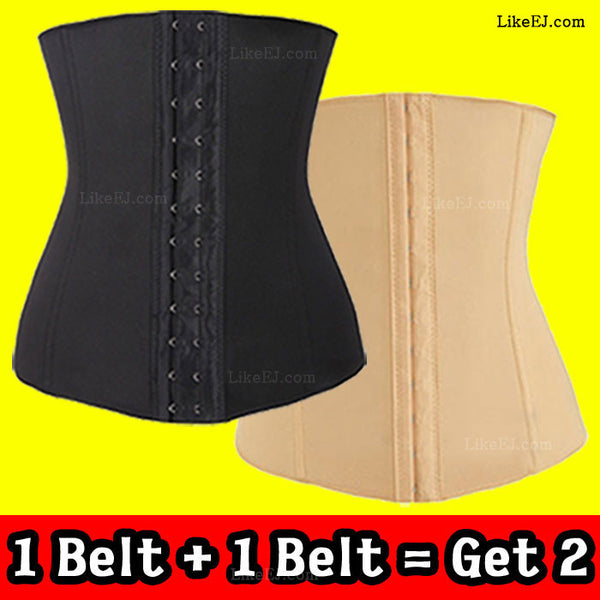 Underbust Corset Waist Training Corset Cincher Girdle Sport Body Shaper Workout Trainer #A-29 - LikeEJ - 1