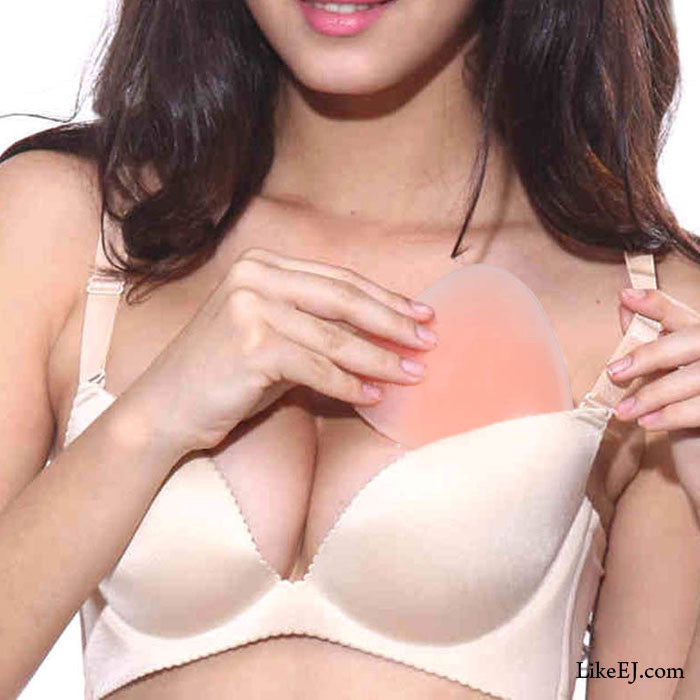 Silicone Gel Push Up Bra Pad Insert Breast Enhancer Bikini Swimsuit - LikeEJ - 1