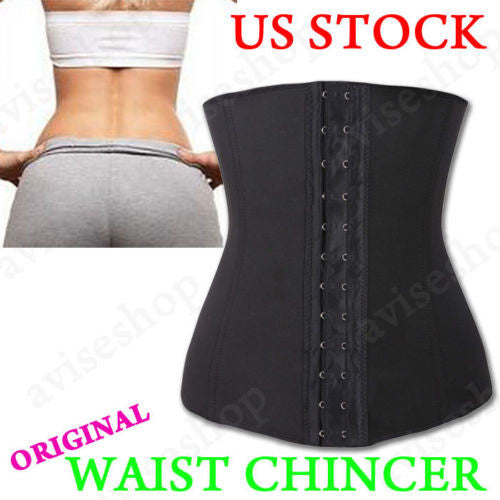 Underbust Corset Waist Cincher Trainer Girdle Sport Body Shaper Workout - LikeEJ - 1