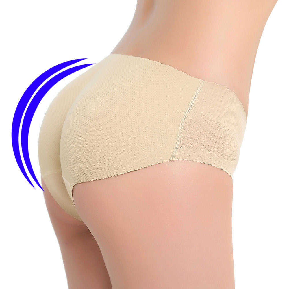 seamless butt lifter padded panty hip push up enhancer underwear - LikeEJ - 1