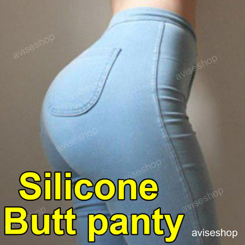 #1 Silicone Buttocks Pads Butt Enhancer body Shaper Panty Tummy Control Girdle