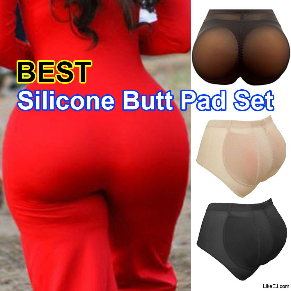 #1 Silicone BUTT Pads buttock Enhancer body Shaper Tummy Control Brief Panty Set