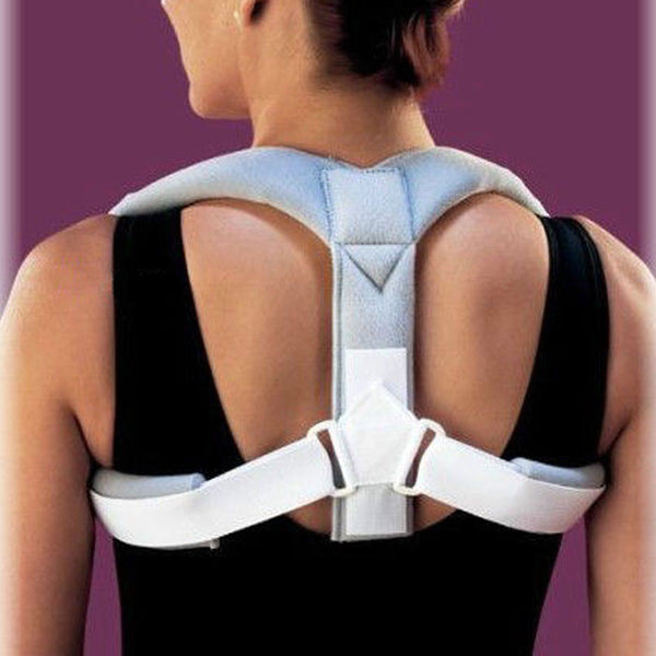 Posture Corrector Clavicle Support Back Shoulder Brace By Flexibrace #A-2 - LikeEJ