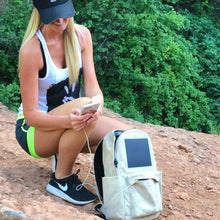 Load image into Gallery viewer, birksun, solar backpack, charging backpack