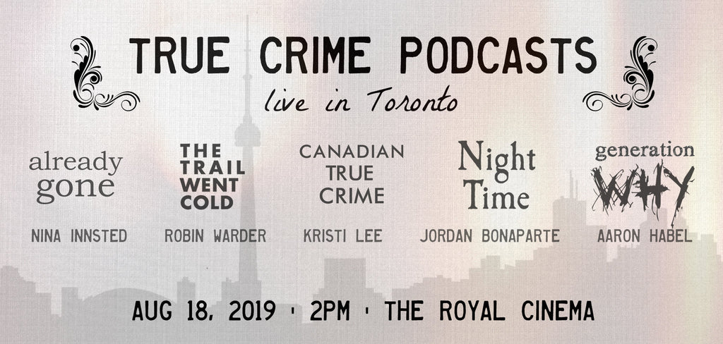 Live true Crime Podcast Event
