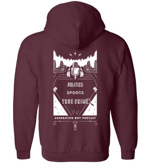 All True Crime Zip Hoodie