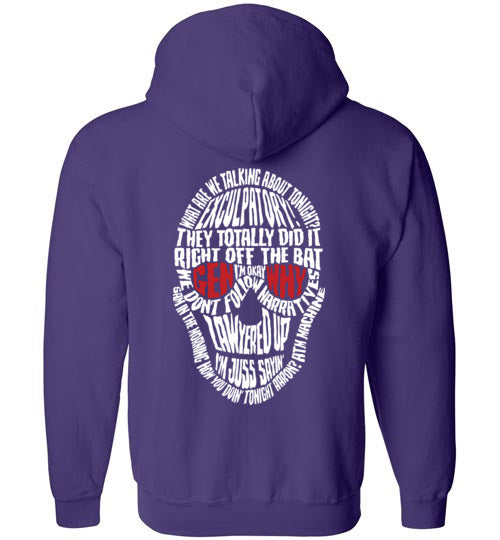 New Zodiac Design Zippered Hoodie Generation Why Podcast