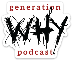 Generation Why Die Cut Sticker