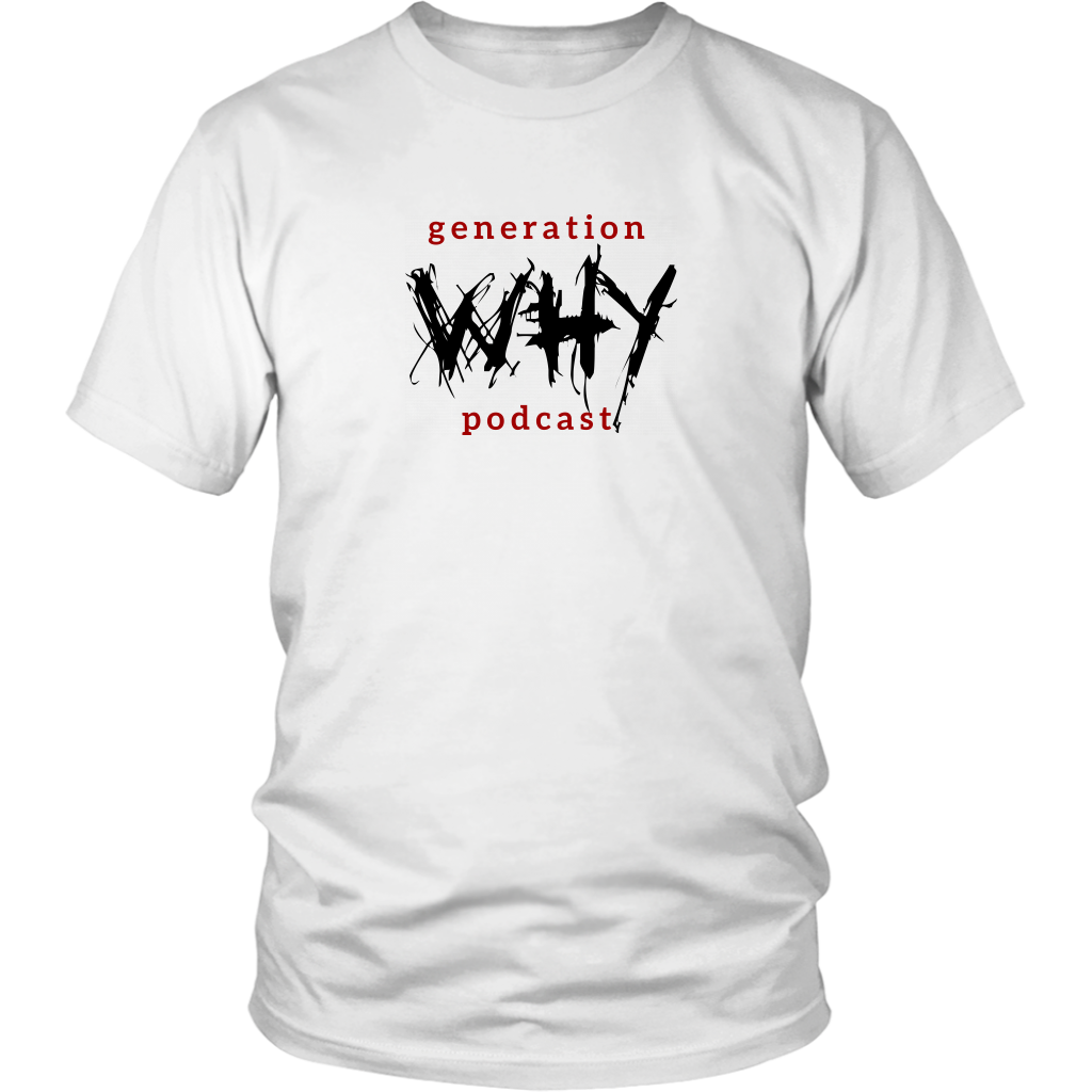 Generation Why Podcast Logo Unisex Tee