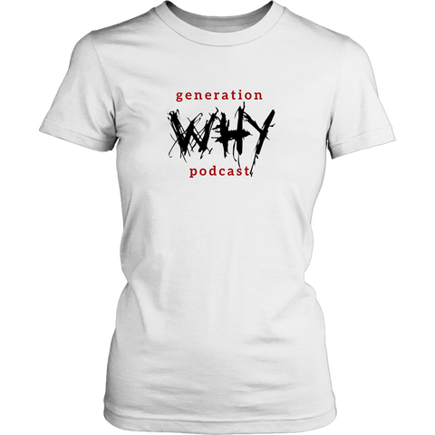 The Generation Why Logo Women's Fitted Tee