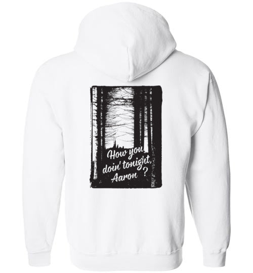 How You Doin' Dark Zippered Hoodie