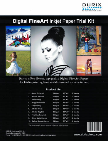 Fine Art Trial Kit