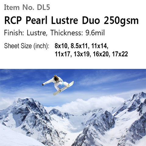 RCP Pearl Lustre Duo 250gsm