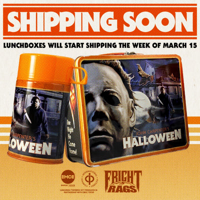 Halloween Lunchbox Shipping Update