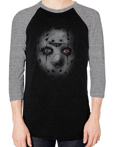Alice Cooper - The Man Behind the Mask - Baseball Tee