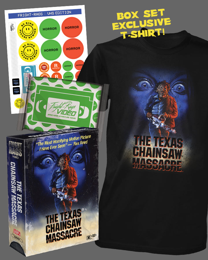 TEXAS CHAINSAW MASSACRE - VIDEO SERIE BOX SET