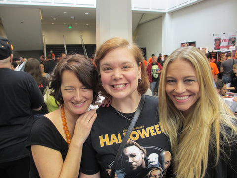 Wendy Kaplan & Tamara Glynn (Tina & Sammy from Halloweeen 5: The Revenge of Michael Myers)