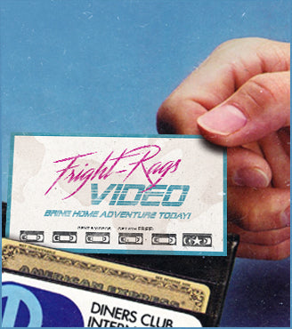 Fright-Rags Video Membership Cards