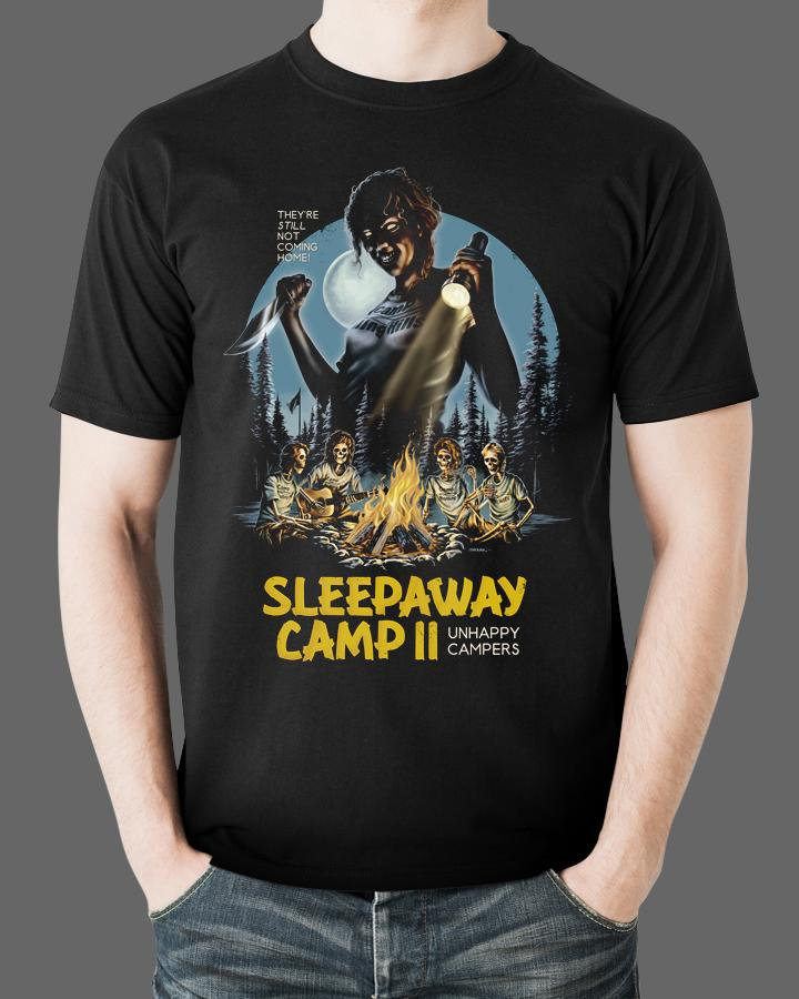 0959c78d4aa9 SLEEPAWAY CAMP 2 - Horror Movie T-Shirt – Fright-Rags