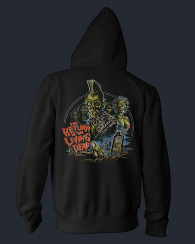 Return of the Living Dead - Zippered Hoodie Hoodie Fright-Rags