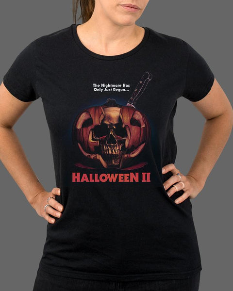 Halloween II V2 - Womens Shirt