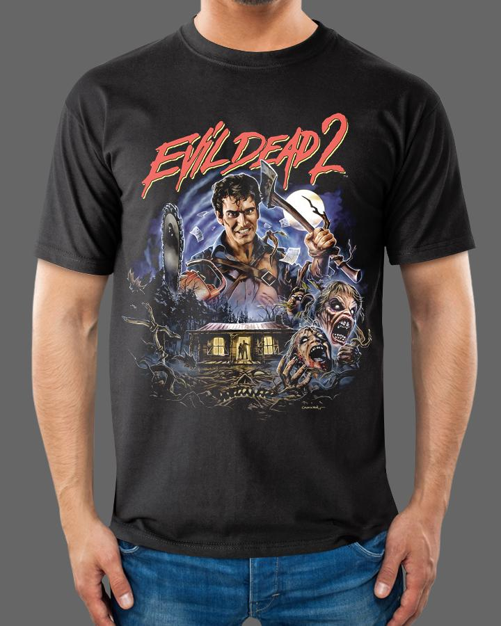 e3c8a8f0a3a EVIL DEAD 2  DEAD BY DAWN - Officially Licensed T-Shirt – Fright-Rags