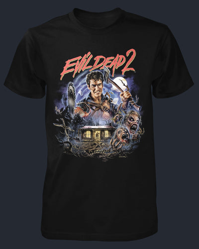 Evil Dead 2 : Dead By Dawn Shirt Fright-Rags