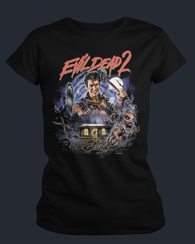 Evil Dead 2 : Dead By Dawn - Womens Shirt Fright-Rags