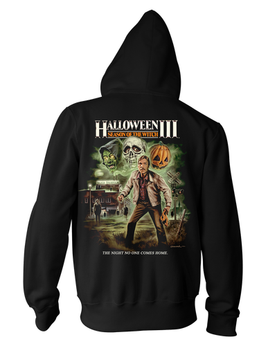 Halloween III : Season of the Witch V2 - Zippered Hoodie Hoodie Fright-Rags