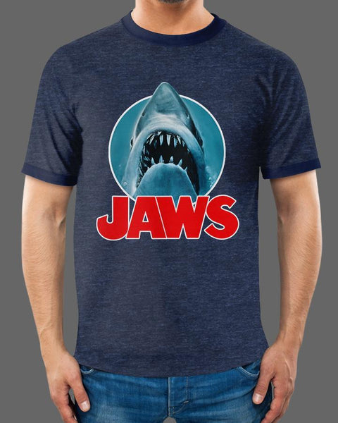 Jaws Classic - Ringer Tee