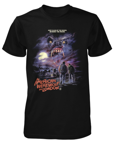 An American Werewolf in London Shirt Fright-Rags