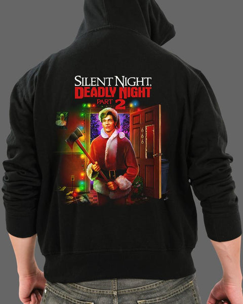 Silent Night Deadly Night pt. 2 V1 - Zippered Hoodie