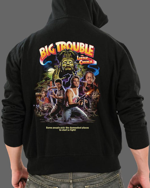 John Carpenter's Big Trouble in Little China - Zippered Hoodie