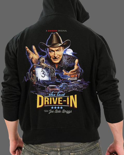 The Last Drive-In - Zippered Hoodie