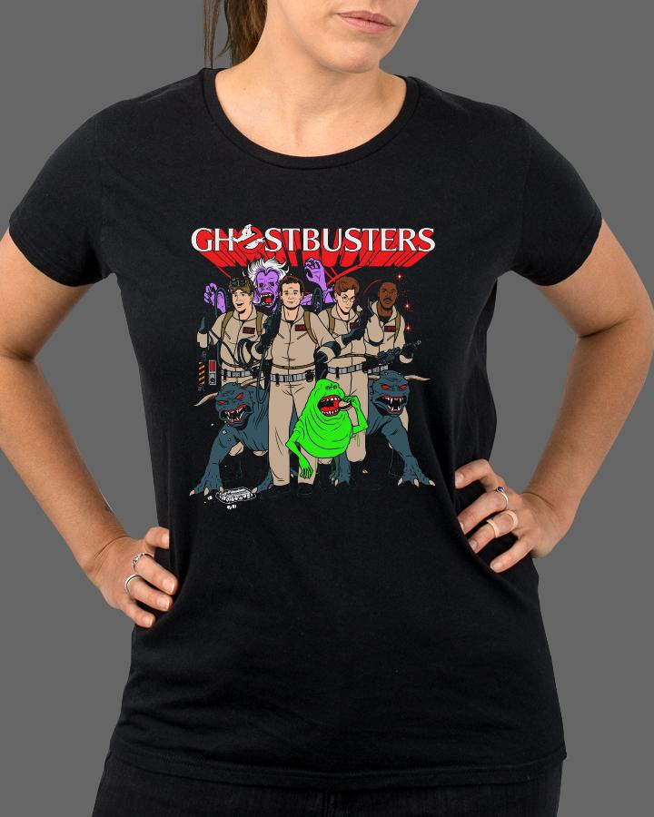 Saturday Morning Ghostbusters - Womens Shirt