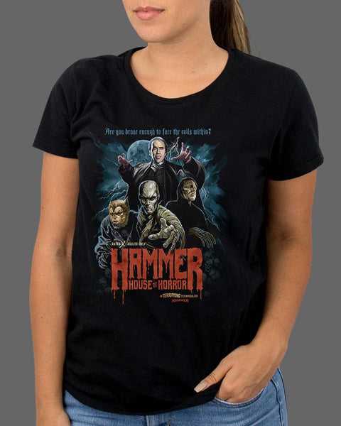 Hammer - House of Horror - Womens Shirt